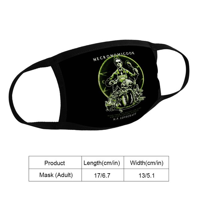Cooking Cthulhu Youth Guy Korean Men Fashion Dust Mask Homme Low Price Brand Apparel K008338 1