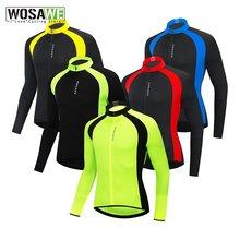 Wosawe Осенняя мужская Трикотажная Одежда для велоспорта спортивная