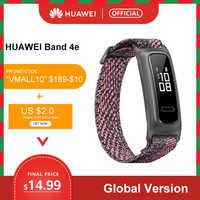 Globale version HUAWEI Band 4e Basketball Wizard Smart Armband mit Zwei Tragen Modi und 14 Tage Batterie Lebensdauer