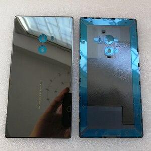 Image 5 - 100% Orijinal Axisinternational Xiao mi mi mi x/mi mi x Pro 18K sürümü Cera mi c ön mi ddle ddle Çerçeve çerçeve + Arka Pil Kapağı durumda