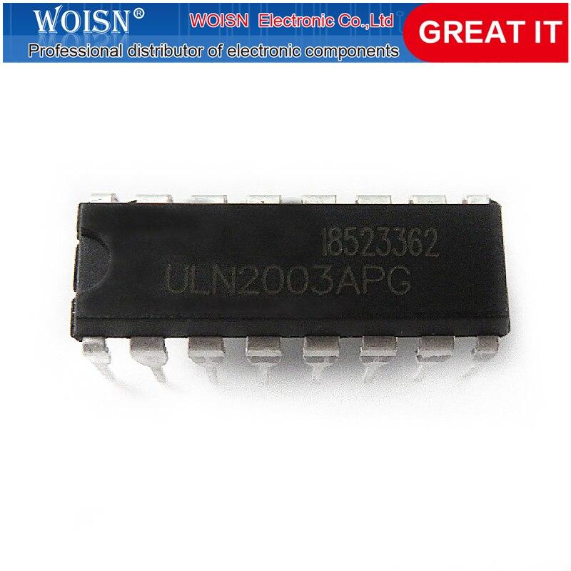10 шт. ULN2003APG ULN2003 DIP16 DIP 2003 новый оригинальный в наличии