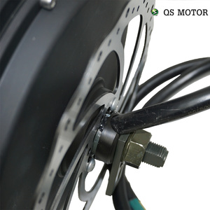 Image 4 - QS Motor  3000W 205  50H V3 Electric Hub Motor for electric bicycle 48/60/72V 4T/5T high speed Motor