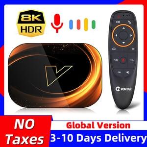 VONTAR X3 8K Max 4GB 128GB TV Box Android 9 9.0 Amlogic S905X3 TVBox 32GB 64GB ROM 1000M Dual Wifi 4K 60fps Youtube Set top Box