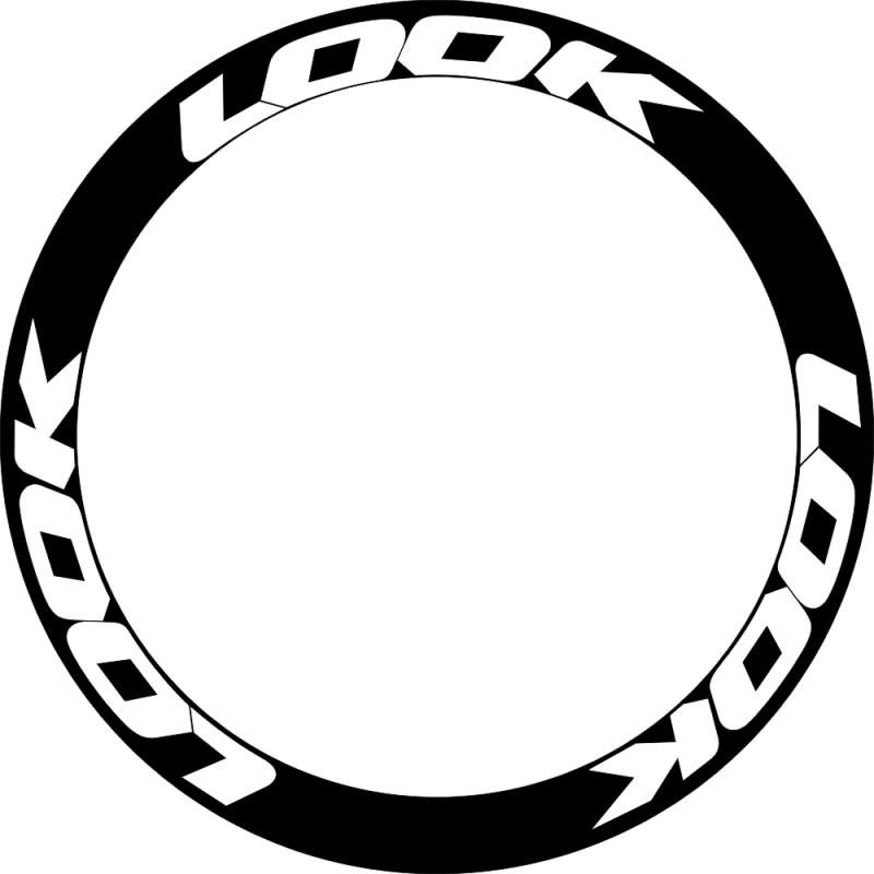 LOOK Rims Wheel Decals Stickers FOR 30/35/38/40/45/50/55/60mm Bike Road Cycle Wheelset Stickers 2 Wheels