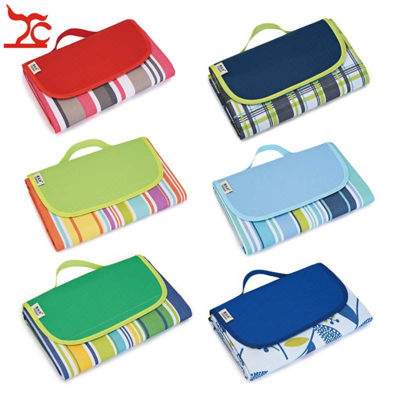 1pc Oxford Cloth Picnic Mat Moisture-proof Mat Outdoor Supplies Tent Mat Grass Mat Widening Picnic Picnic Cloth