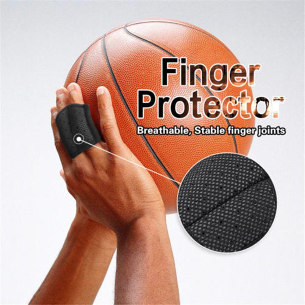 Basketball Volleyball Sports Double Finger Joint Support Brace Hand Protector