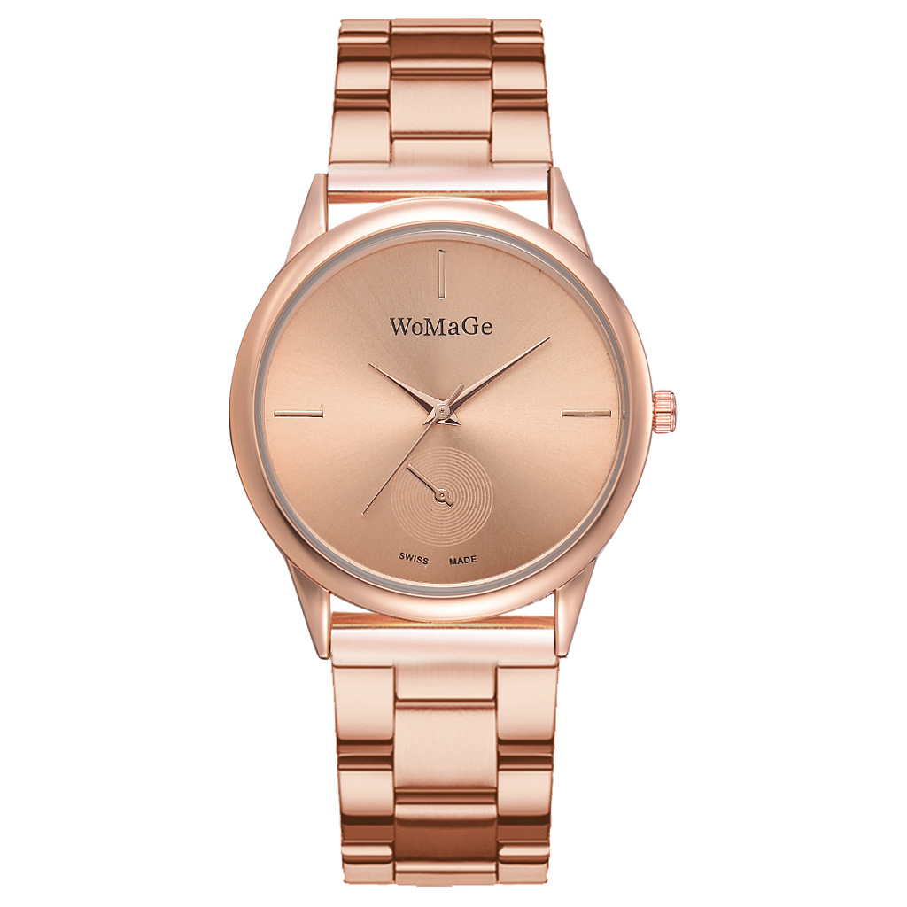 Women Watches Simple Rose Gold Watch Women Luxury Female Wrist Watch Stainless Steel Ladies Watch Relogio Feminino Reloj Mujer