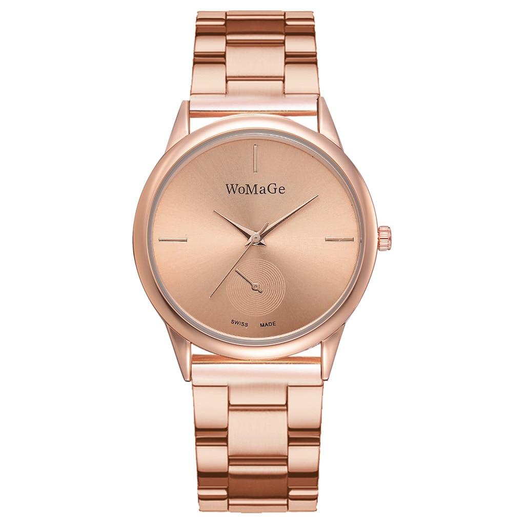 Women Watches Simple Rose Gold Watch Women Luxury Female Wrist Watch Stainless Steel Ladies Watch Relogio Feminino Reloj Mujer