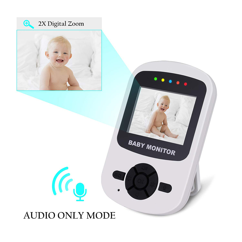 Image 3 - Neng Wireless 2.8inch Lcd Audio Video Baby Monitor Radio Nanny Music Intercom  24H Portable Baby Camera Baby Walkie Babysitter-in Baby Monitors from Security & Protection