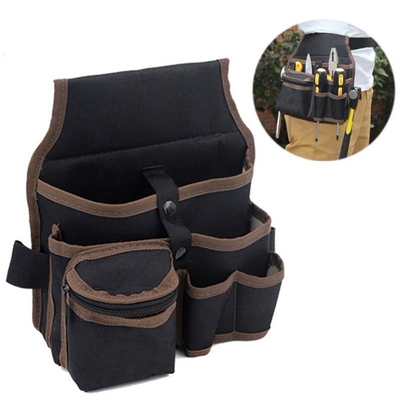 High Quality Tool Bag Workpro Electrician Bag Tool Belt Waist Pockets Electrician Organizer Portable Outdoor Bag