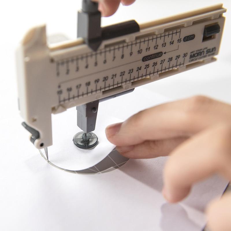 JIANWU Creative DIY Handmade Compass Knife Simple Cyclograph Crop Tool Give Blade School Supplies
