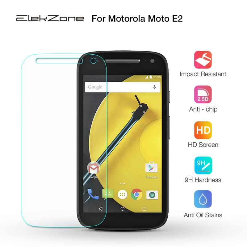 Tempered Glass Film For Motorola Moto E E2 For M0TO G G2 G3 G4 Play 2.5D HD Screen Protective Glass Film For MOTO X Play X2