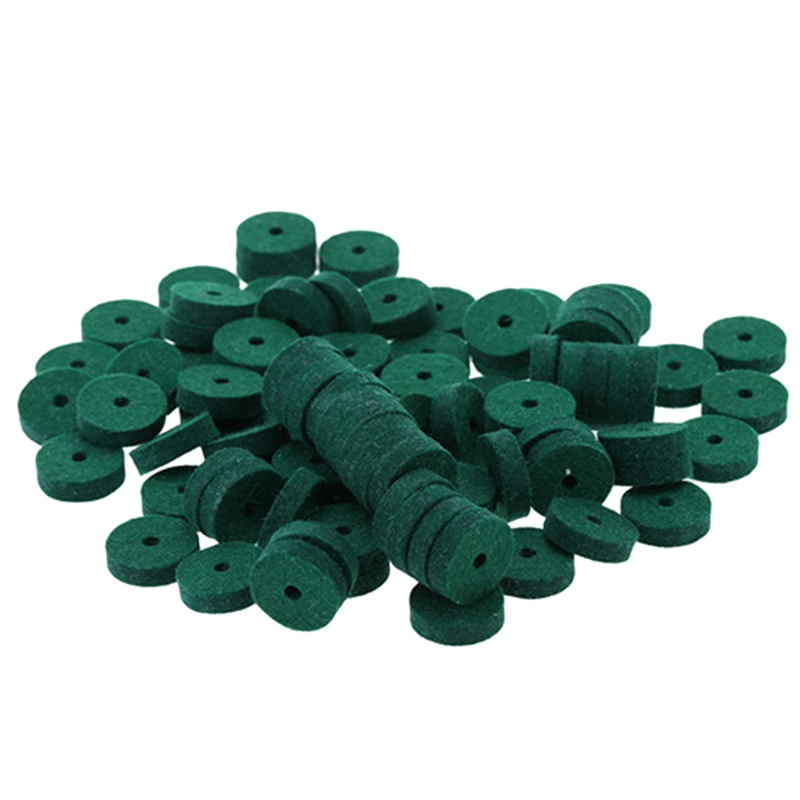 90Pcs Piano Keyboard Washer Piano Felt Balance Rail Punchings Washers Repair Parts Useful Piano Tuning Tool