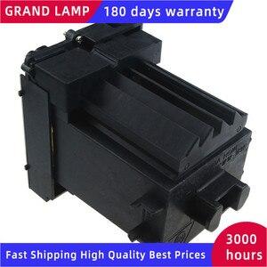 Image 2 - POA LMP124 yedek TV projektör çıplak lamba için konut ile Sanyo PLC XP200L PLC XP200 projektörler mutlu BATE