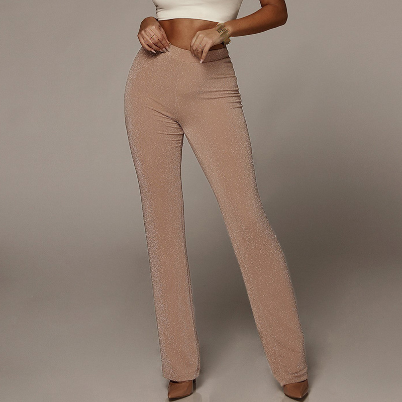 Ladies   Pants   Women's Trousers Party Summer Solid Casual High Rise Formal