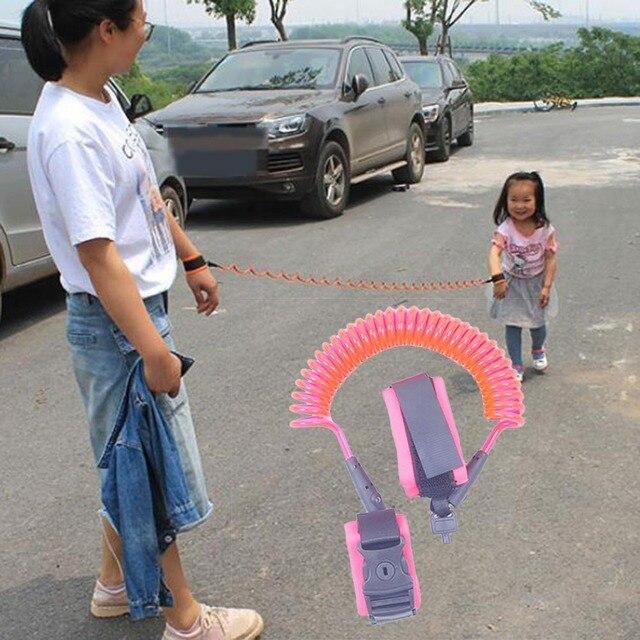 1.5/2/2.5M Kids Anti-lost Harness Adjustable Kids Safe Harness Children Wrist Leash Anti-lost Belt Band Magic Tape 5