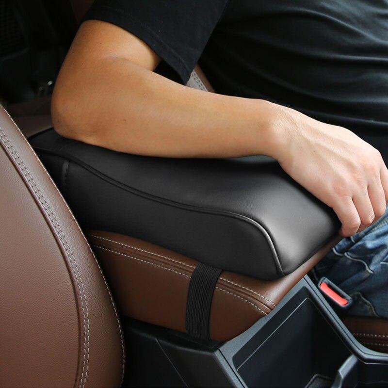 De cuero y esponja caja de pasamanos cojín cubierta especial caja para pañuelos de papel para Subaru Forester accesorios de coche decoración Interior