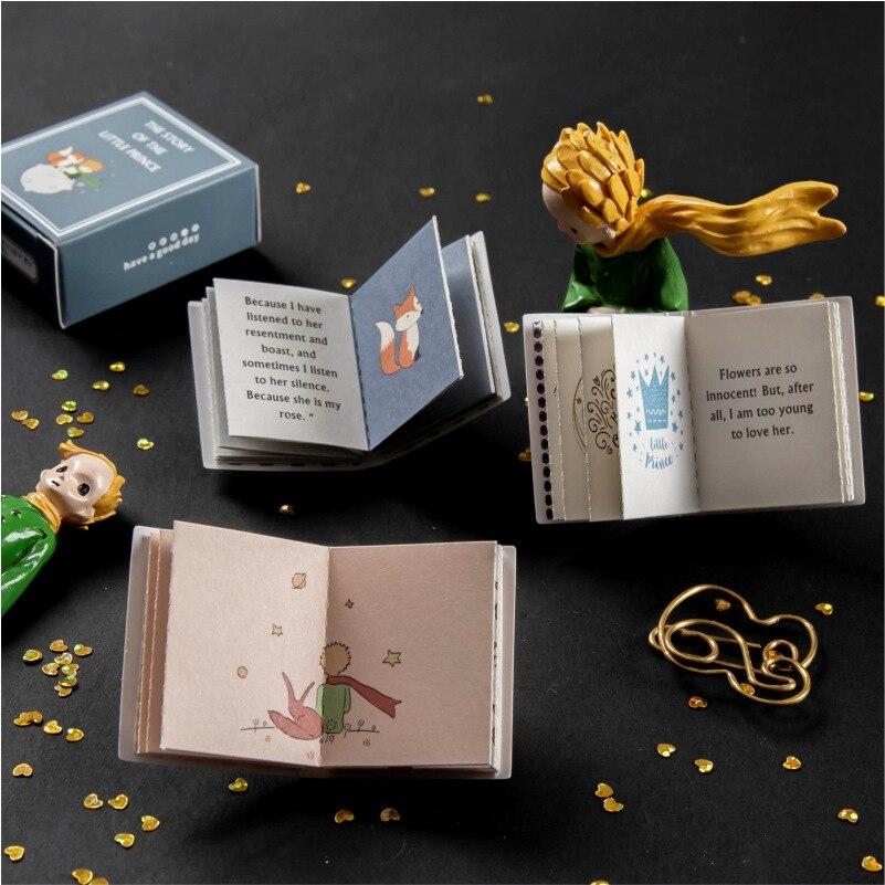3 книги/набор винтажные открытки Маленького принца, ретро штамп, билет в стиле «сделай сам», декоративная этикетка для скрапбукинга, канцеля...