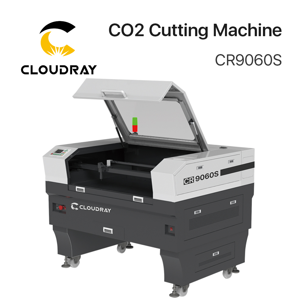Cloudray 90-100W/130W-150W CO2 Cutting Machine CR9060S/ CR1390S With S&A Chiller 3000AG/ 5200AH