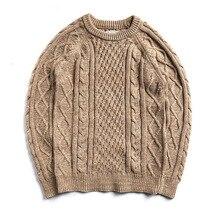 MY-0007 Read Description ! Asian size long-sleeve jumper  mans 100% cotton autumn winter classic jumper