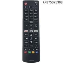 Controle remoto akb75095308, para lg smart tv «, 43uj634v, 49uj634v, 55uj634v, 65uj634v,»