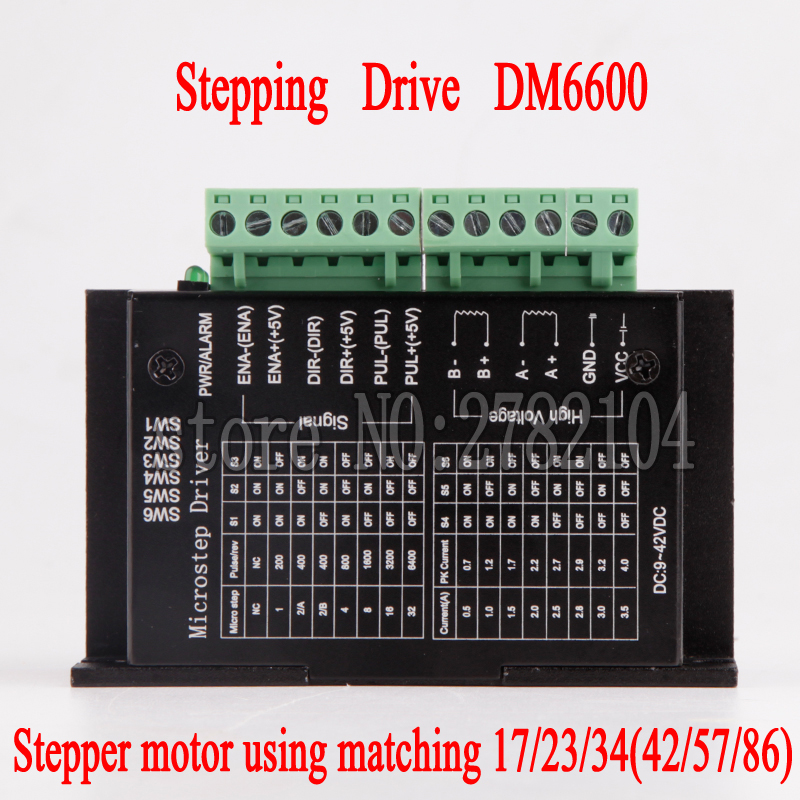 Free shipping TB6600 DM542 DM556 DM860 Segments for NEMA17/23/34 Stepper <font><b>Motor</b></font> <font><b>Driver</b></font> Wood Router Machine Milling Kits image