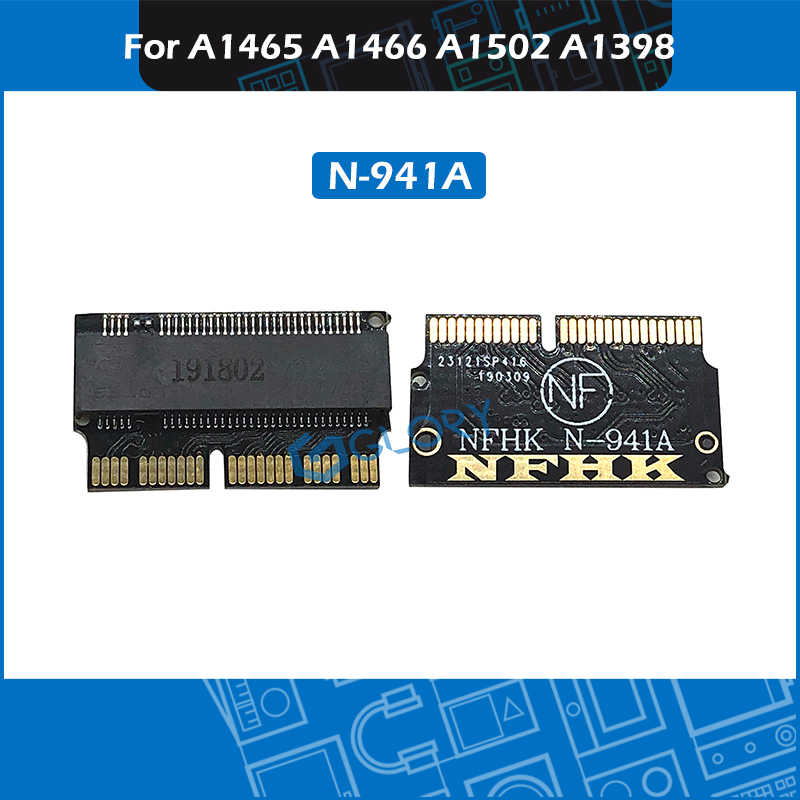 NVMe PCI Express PCIE à M.2 SSD adaptateur carte N-941A pour Macbook Air Pro A1465 A1466 A1502 A1398 2013 2014 2015