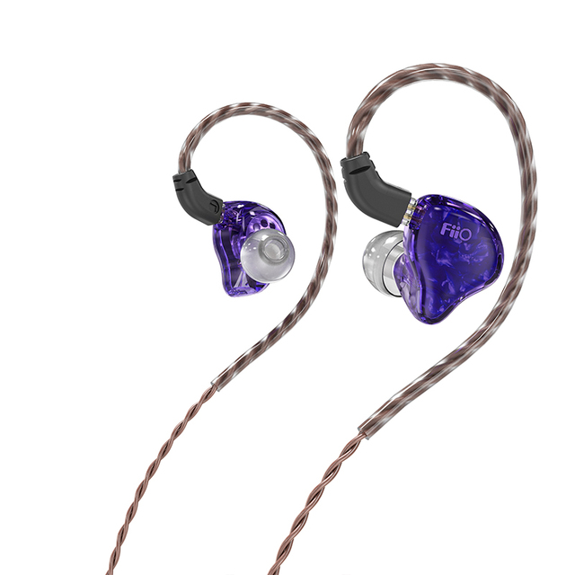 FiiO FH1s HiFi Stereo 1BA(Knowles)+1Dynamic Hybrid Earphone IEM with 0.78 2pins Detachable Cables with Deep bass hifi 5