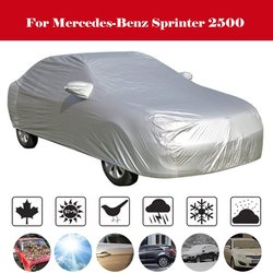 Full Car Cover Outdoor Anti-UV Sun Rain Scratch Snow Protector MPV Cover Windproof For Mercedes-Benz Sprinter 2500