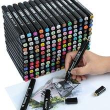 Маркеры touchfive 30/40/60/80 цветов набор для анимации маркеры