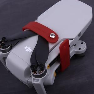 Image 3 - Mini 2/ Mavic Mini/Mini SE ใบพัดผู้ถือ Fixer สำหรับ DJI อุปกรณ์เสริมซิลิโคน Helices Fixture Stabilizers ป้องกัน