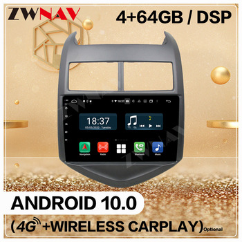 2 Din For Chevrolet Aveo 2011 2010 2011 2012-2015 Android 10 Screen Multimedia Audio Radio GPS Navigation Head Unit Auto Stereo image
