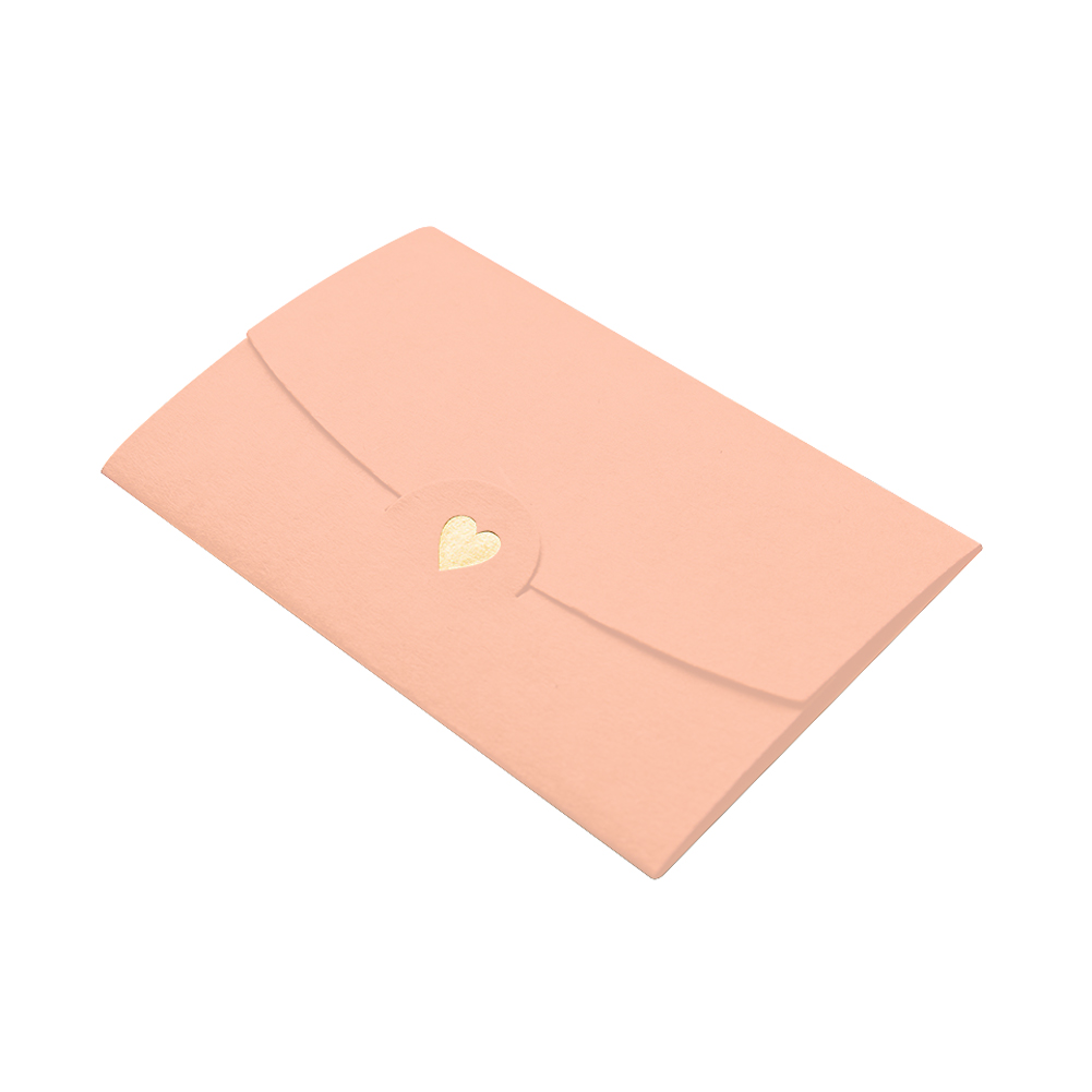 20pcs DIY Office Business Loving Heart Craft Mini Paper Wedding Envelopes Classical Multifunction Notes Gift Card Pocket