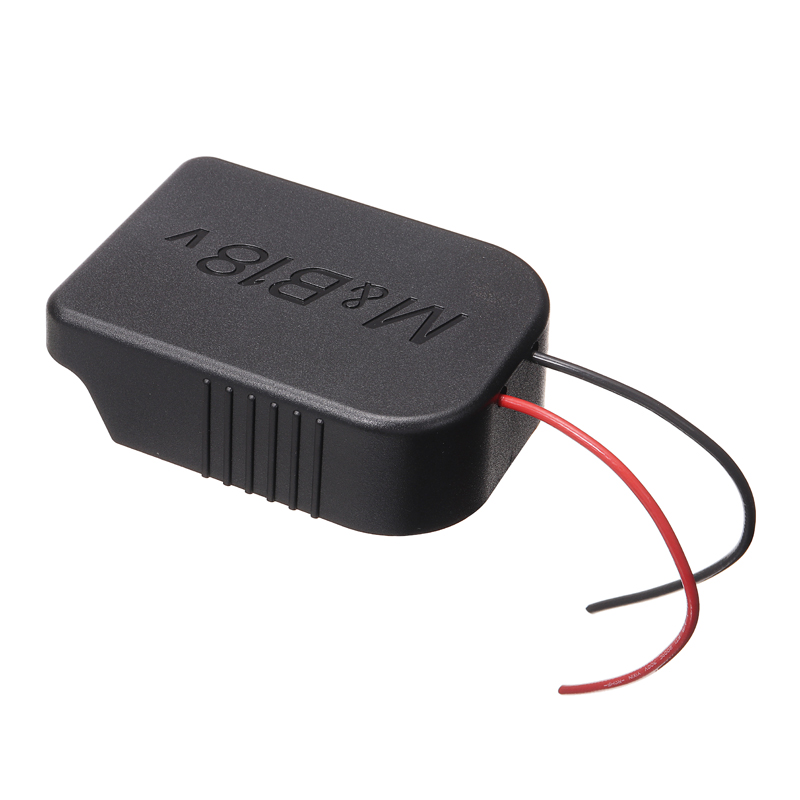 Durable Lithium Battery Accessory <font><b>Adapter</b></font> For Makita <font><b>18V</b></font>/<font><b>Bosch</b></font> <font><b>18V</b></font> Li-ion Battery to DIY Cable Connect Output <font><b>Adapter</b></font> Converter image