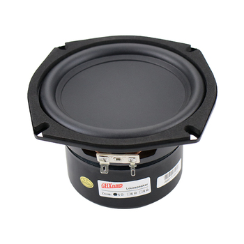 5 inch Speaker 5.25 inch Subwoofer Speaker 134MM Woofer Strong Bass Concave Bowl 40W 56Hz-4.5KHz 1PCS 5