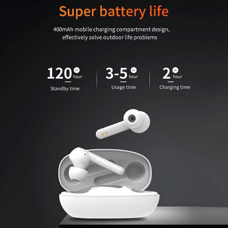 RIGLANMA X7 TWS Bluetooth écouteurs 3D stéréo i7s TWS sans fil écouteur contrôle tactile 5.0 dans l'oreille Auto-paire sans fil casques