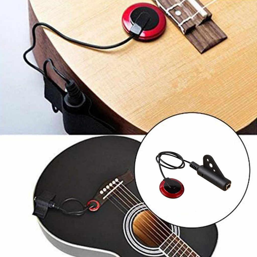 Profesjonalny przetwornik piezoelektryczny kontakt Mic Pickup Pickup do gitary akustycznej skrzypce Ukulele Banjo String akcesoria do instrumentów