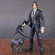 MAFEX 085 John Docht Kapitel 2 Keanu Reeves PVC Action Figure Sammeln Modell Spielzeug