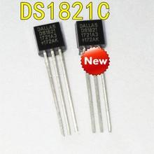 DS1821C + TO92 DS1821 DS1821C טמפרטורת חיישן