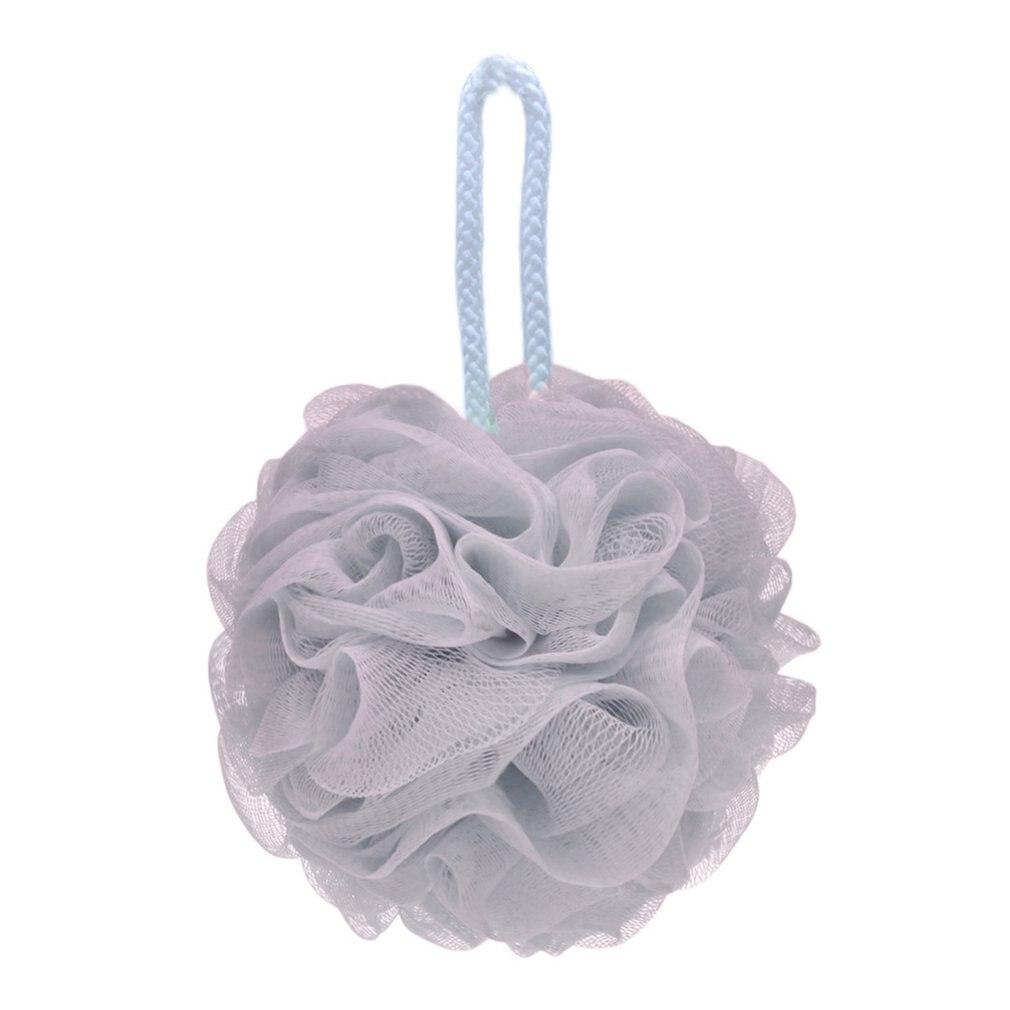 Polyester Cotton Lanyard For Easy Drying Big Bath Flower Large Bath Ball Plain Bath Ball Bath Flower Net Red Bath Ball