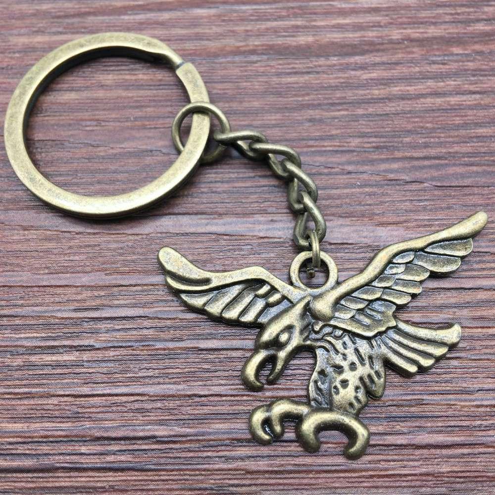 3 pçs chaveiro coruja e águia chaveiro moda venda quente carro chaveiro chaveiro feminino chaveiros