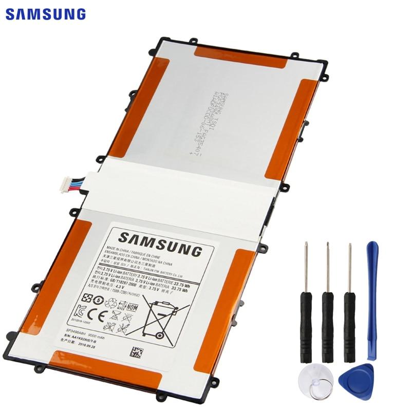 Galleria fotografica <font><b>SAMSUNG</b></font> Batteria Originale SP3496A8H(1S2P) Per <font><b>Samsung</b></font> Google Nexus 10 GT-P8110 HA32ARB Autentico Tablet Batteria 9000mAh