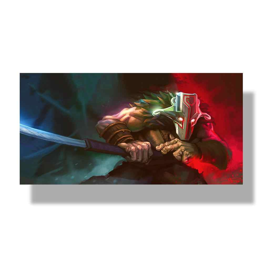 Современные картины на холсте модульная игра плакат 1 шт. 2 DotA Juggernaut Настенный декор домашний декор для мальчиков комната HD печатные картины художественная работа
