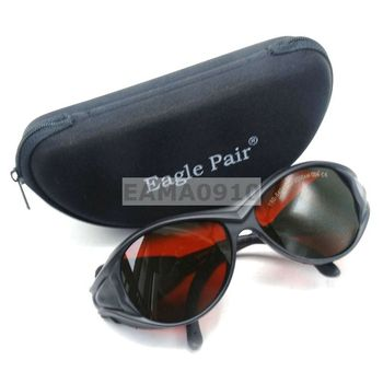 OD4+ 190-540&800-2000nm Laser Protective Goggles Glasses CE Eaglepair EP-1-2