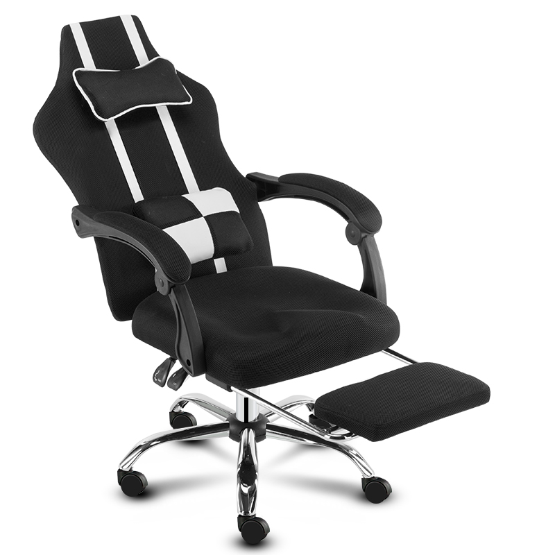 Simple Office Chair Boss Chair Student Swivel Home Game Chair Conference  office furniture Armchair  Minimalist Modern|  - title=