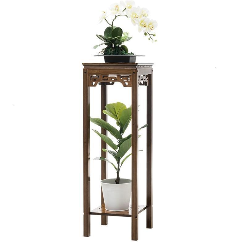Decorativa Madera Plantenrekken Soporte Plantas Interior Indoor Wood Dekoration Outdoor Stand Balcony Flower Rack Plant Shelf