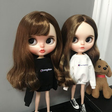 где купить Casual Print Blyth Doll Long Sleeve Clothes T-shirt for Blyth Azone Licca OB 1/6 Dolls Accessories Clothing по лучшей цене