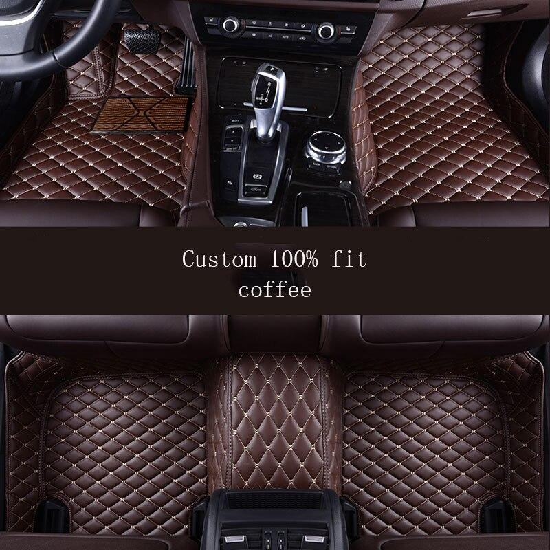 HLFNTF araba kat ayak mat mercedes w211 cla w212 w245 e s-klasse gla w176 glk gle a180 araba aksesuarları styling