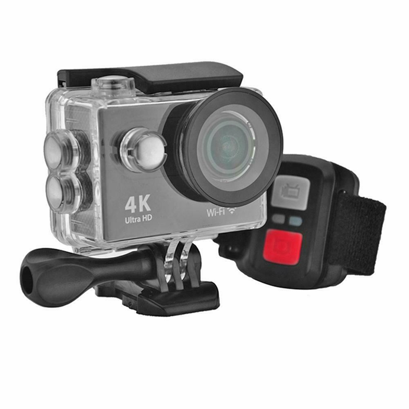 ABGN Hot-H9R Wifi <font><b>Camera</b></font> 1080P Ultra 4K Sport <font><b>Action</b></font> Waterproof Travel Camcorder Black image