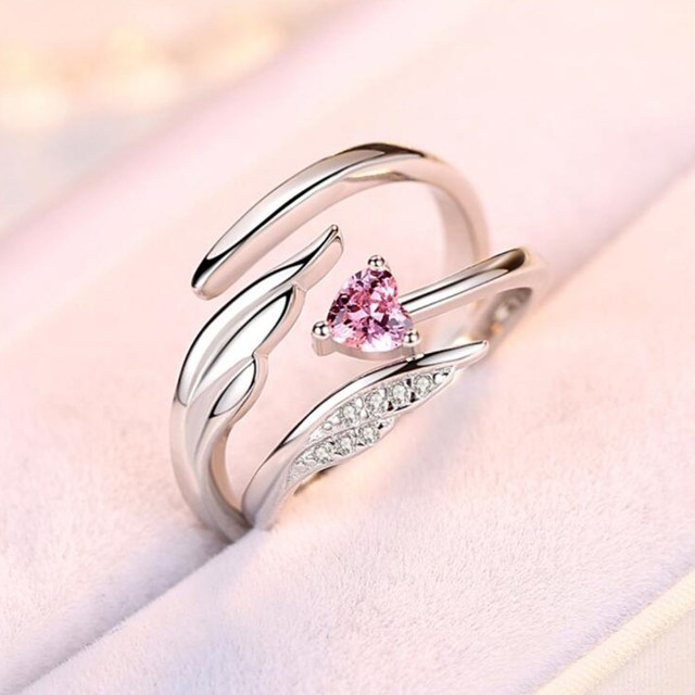 NEHZY 925 sterling silver new jewelry fashion woman opening ring anniversary wedding anniversary wedding engagement couple ring 2